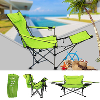 Camp Solutions Light Weight Backpacking Reclining/Lounging Camping Folding Chair for Outdoor Fishing Camping, RV, BBQ