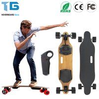 2017 Style Outdoor 7 Layers Maple Wood Electric Longboard Skateboard For Adult Or Children 83mm Hub