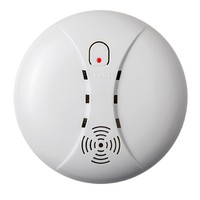 Wireless Smoke Fire Detector Smoke Alarm For Touch Keypad Panel Wifi GSM Home Security System With