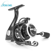 Bobing Metal Spool Spinning Fishing Reel 10+1BB 5.1:1 Carp Sea Salt Fresh Water Drag Casting Wheel Left/Right Hand Tackle Gear