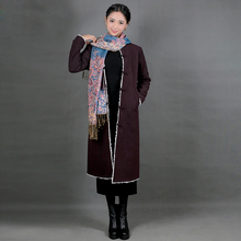 Nepal Holiday Women Tibetan Clothes Original Ethnic Long Robe Improving Chinese Ancient Tibet Gown Retro Tibet Style Outfit Wear цены онлайн