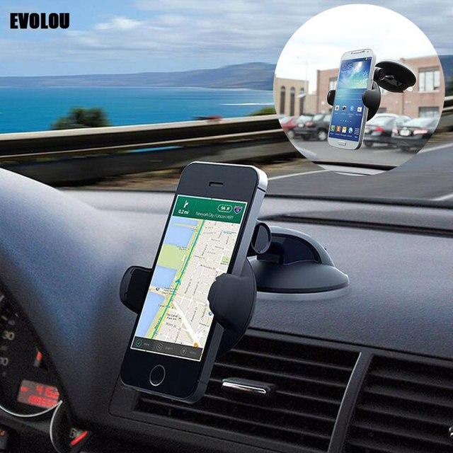 EVOLOU Car Phone Holder Automobiles & Motorcycles Unisex color: Air Vent Holder Black