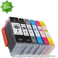 6 color compatible for Canon PGI 470 CLI 471 ink cartridge PIXMA MG 5740 MG 6840 TS 6040 MG 7740 TS 8040 TS5040 TS9040
