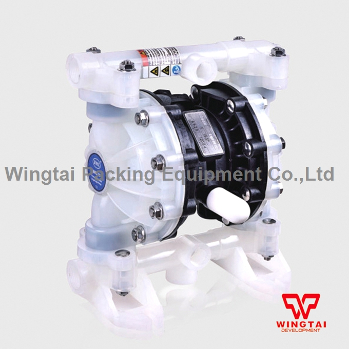 57L/min PP Material Pneumatic Diaphragm Pump BML-15P For Waste Water and Corrosive Liquid Circulating Transport 6162 63 1015 sa6d170e 6d170 engine water pump for komatsu