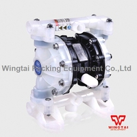 57L Min PP Material Pneumatic Diaphragm Pump BML 15P For Waste Water And Corrosive Liquid Circulating