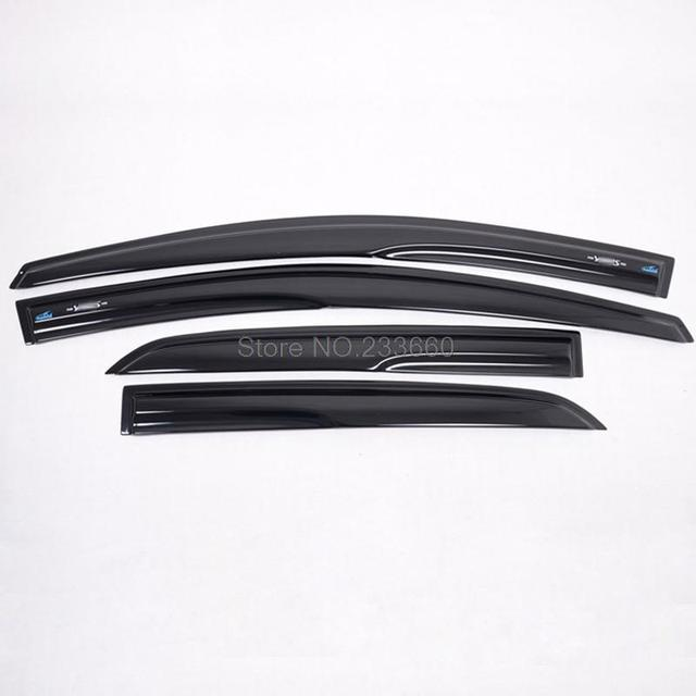 Fit For TOYOTA YARIS Hatchback 2008 2009 2010 Window Visor Sun Visor Rain Shield 4pcs Car Trim