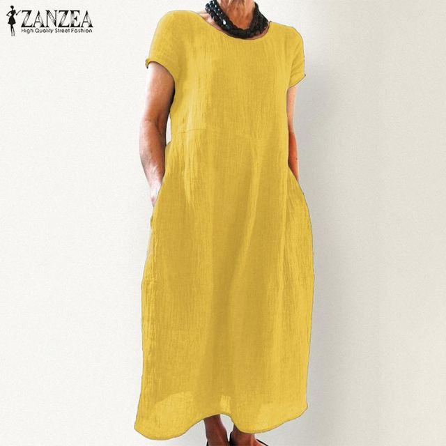Boho light long cuff shoulder dress 4
