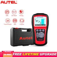 Autel MaxiDiag Elite MD802 Car Diagnostic Tool OBD2 Scanner Code Reader ABS Airbag Engine EPB Automotive better than Launch X431