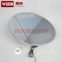 Top spray shower cabin shower belt led lamp lighting with light shower whole 10 25cm