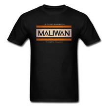Men Black T-shirt MALIWAN ELEMENTAL T Shirt Gamer Retro Letter Tshirt Groups Printed Tops Graphic Plus Size Tees Cotton Fabric