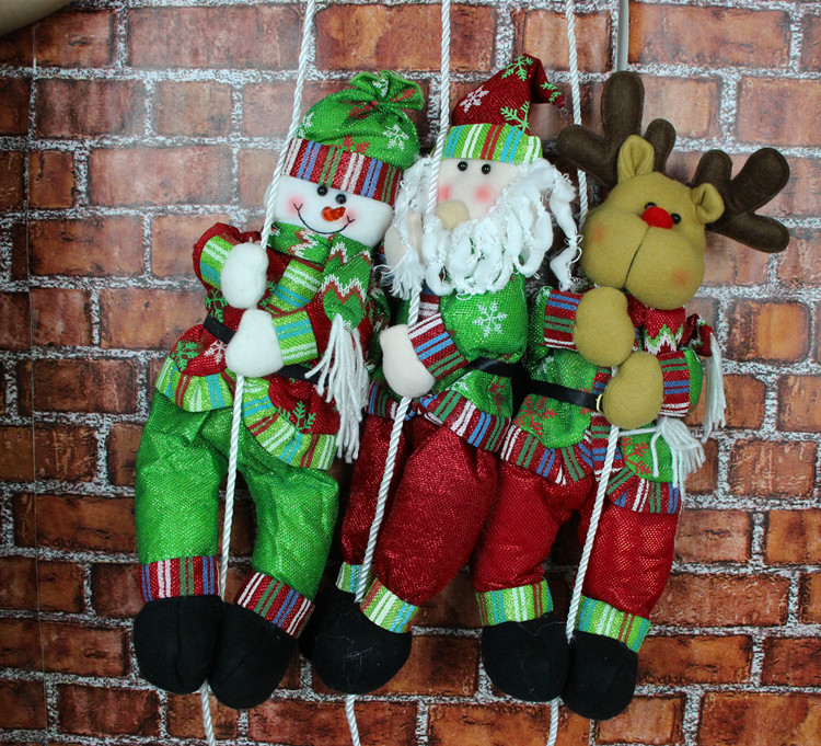 Vintage Plastic Outdoor Christmas Decorations