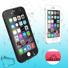 Waterproof Silicone Soft TPU Case Cover for iPhone 6 s 6s i Phone Shockproof Shock Water