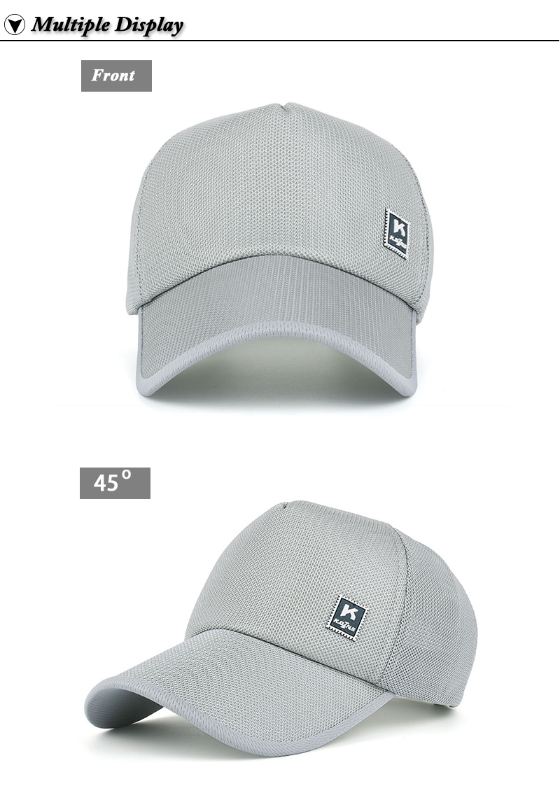 Stamp Emblem Snapback Cap - Front and Front Angle Views
