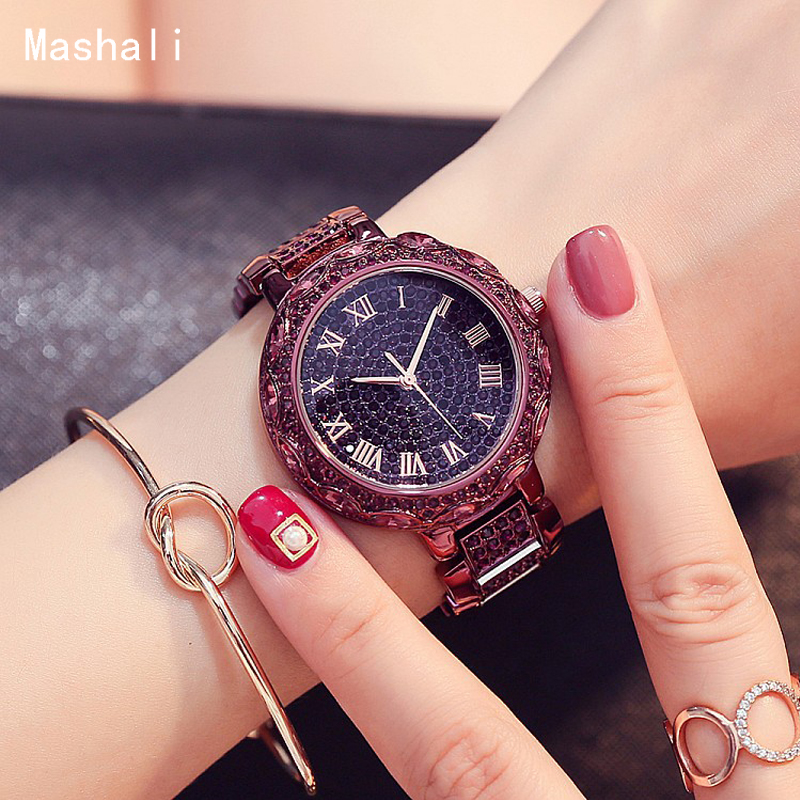 Mashali Women's Watches Top Brand Luxury Casual Quartz Clock Ladies Fashion Dress Bracelet Gold Watch Clock Relogio Feminino asj brand lady bracelet watches women luxury fashion casual wristwatch clock dress quartz wrist watch gold relogio feminino