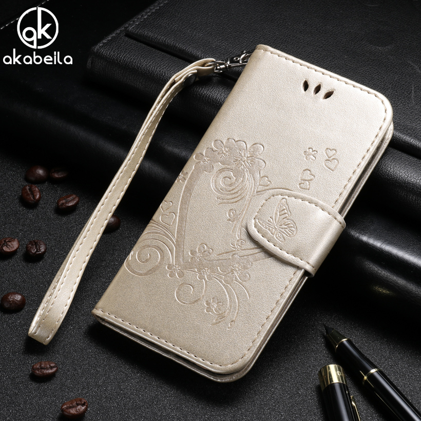 AKABEILA For iPhone 6 Plus Case iPhone 6S Plus Cases Leather Cover For iPhone6Plsu iPhone6SPlus Covers Flip With Card Holster ...