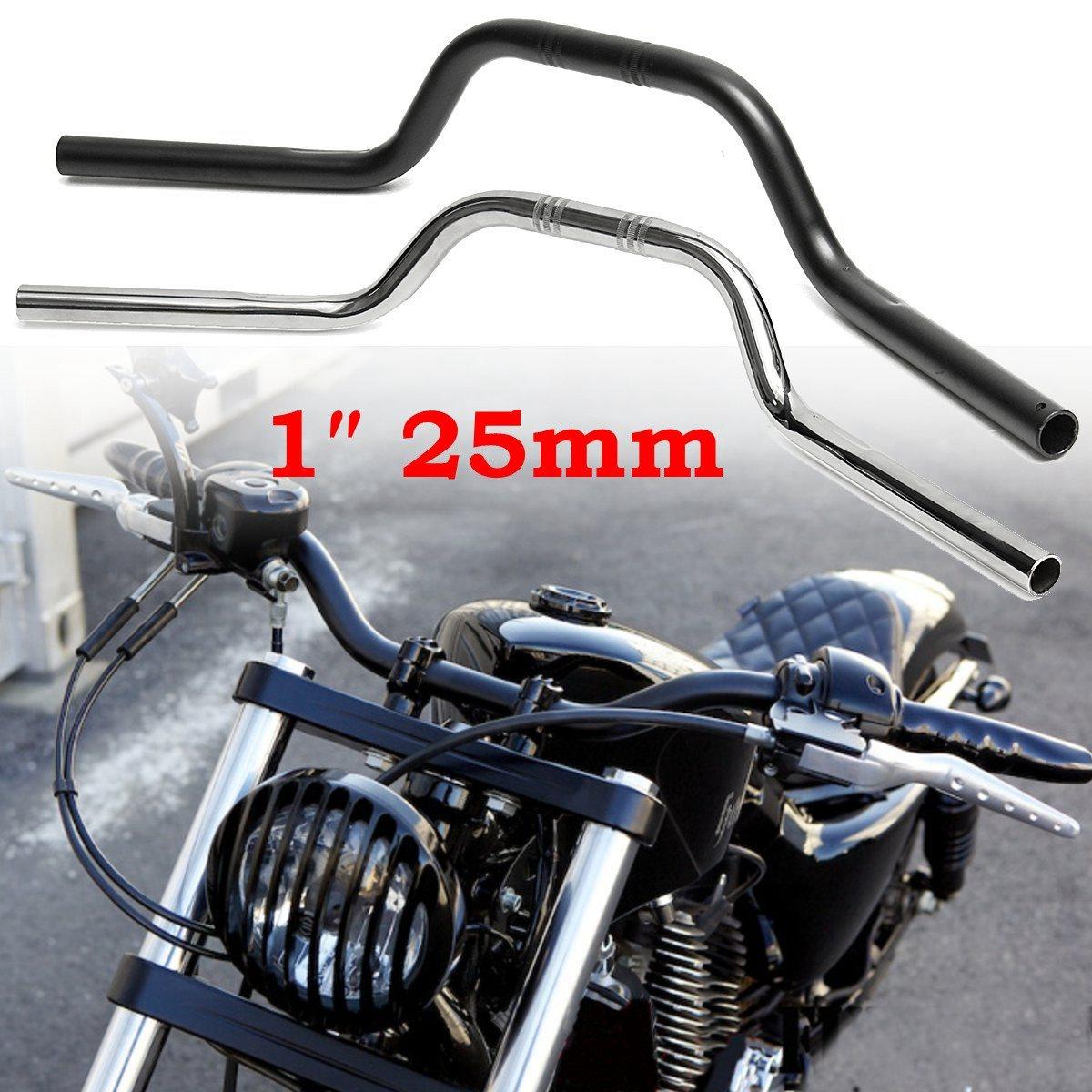 1 25mm Motorcycle Handlebar Drag Bars For Harley-Davidson 883 1200 motorcycle handlebars