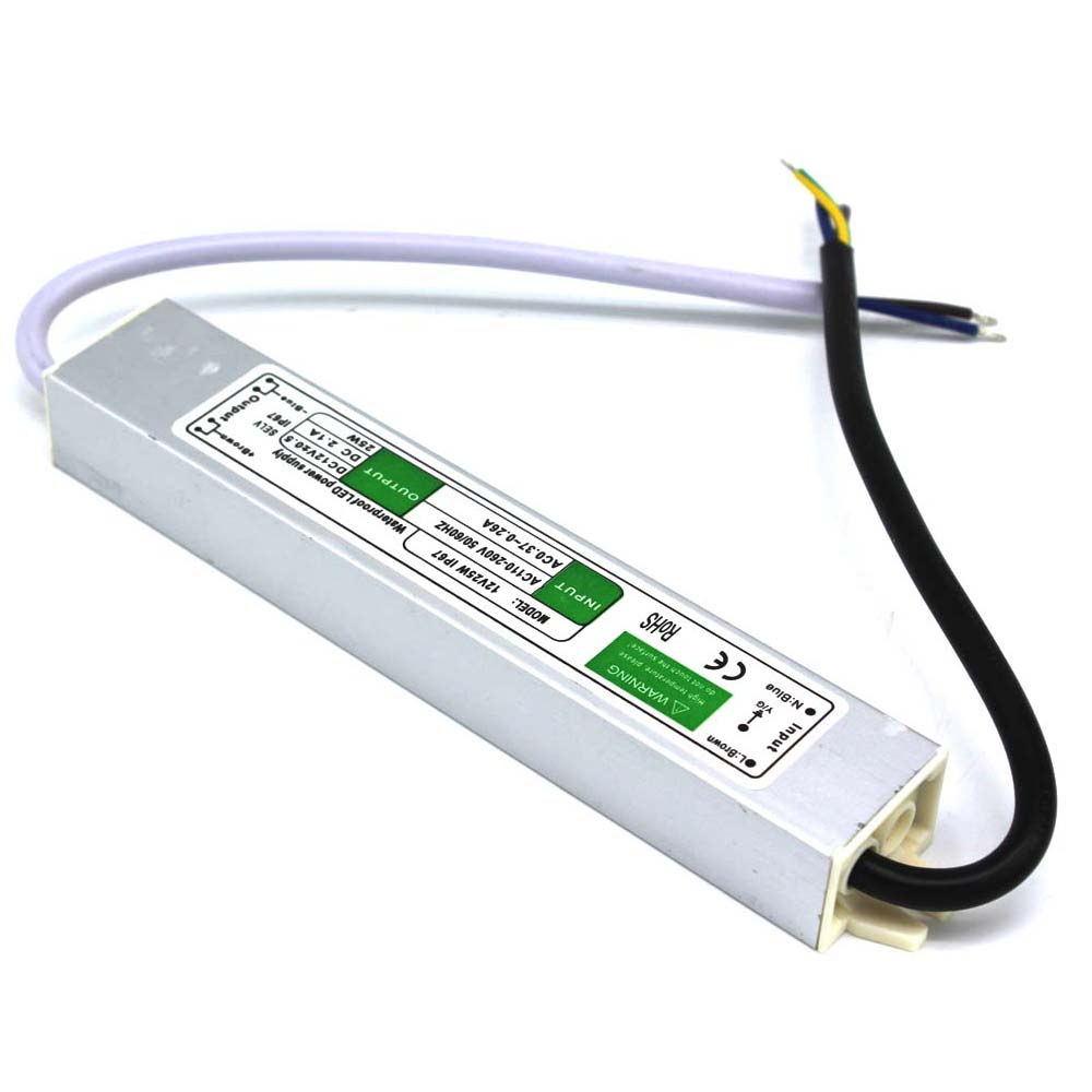 Dc12v 21a 25w electronic led driver ip67 waterproof switching power dc12v 21a 25w electronic led driver ip67 waterproof switching power supply for outdoor lighting transformers 100 240v ac to dc in switching power supply workwithnaturefo