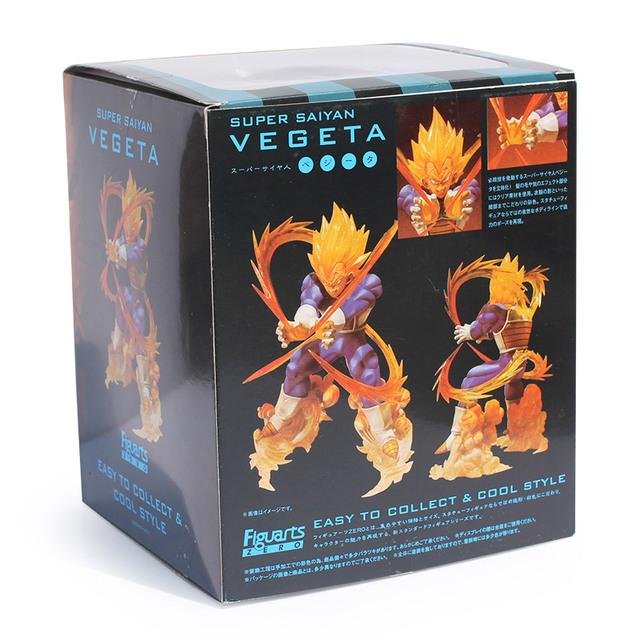 15CM Dragon Ball Z Super Saiya Vegeta Battle State