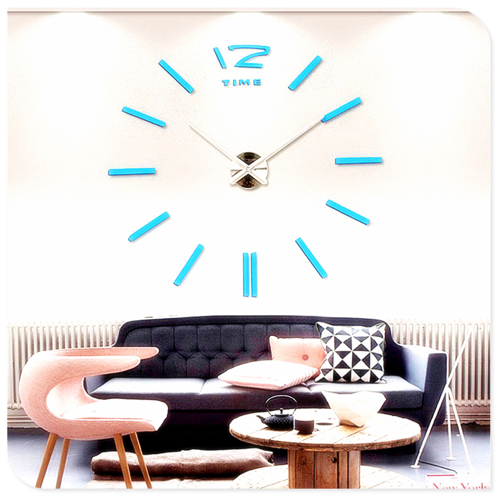 Hot Sales Factory Price! Luxury Wall Clock Living Room DIY 3D Home ...