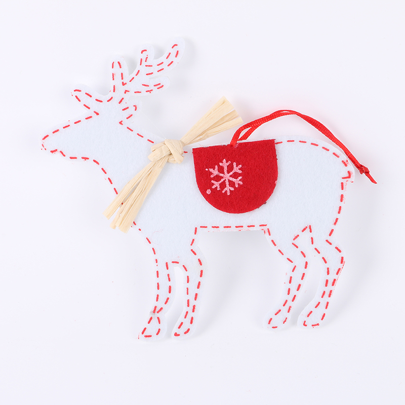 2pcs Xmas Ornaments Christmas Tree Hanging Party Decorations Home Festival Decor