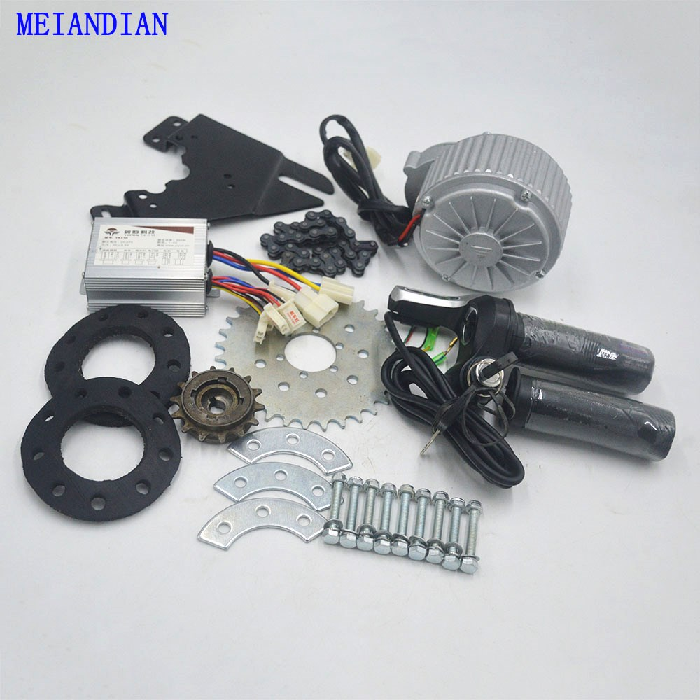 24 V/36 V 450 W Bicicleta Elétrica kit bicicleta elétrica Kit de Conversão Pode Caber MTB mountian Bicicleta de estrada uso Spoke Roda Dentada Chain Drive