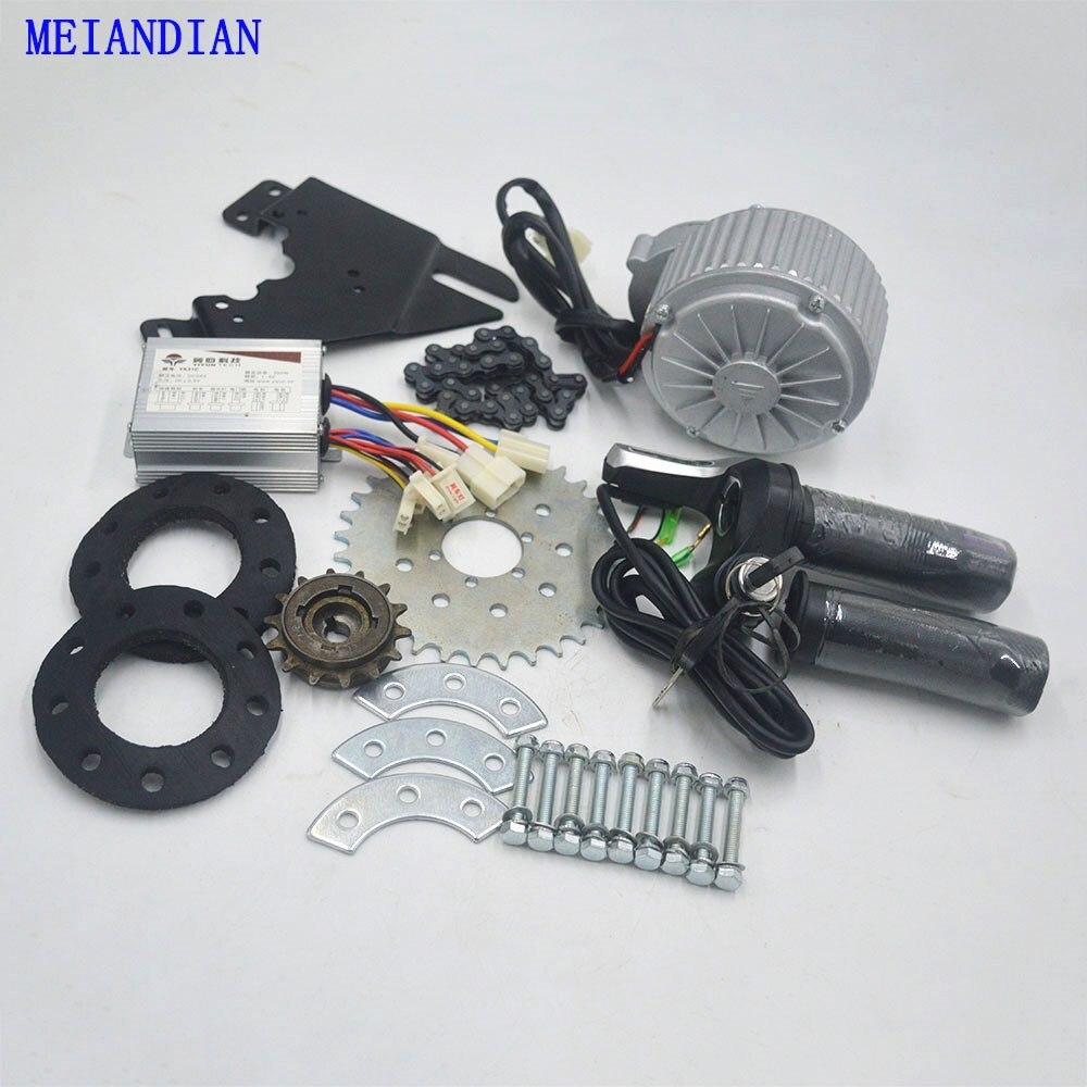 24 V/36 V 450 W Elektrische Bike kit elektrische fahrrad Conversion Kit Können Fit MTB mountian straße Fahrrad verwenden Speichen Kettenrad Kette Stick