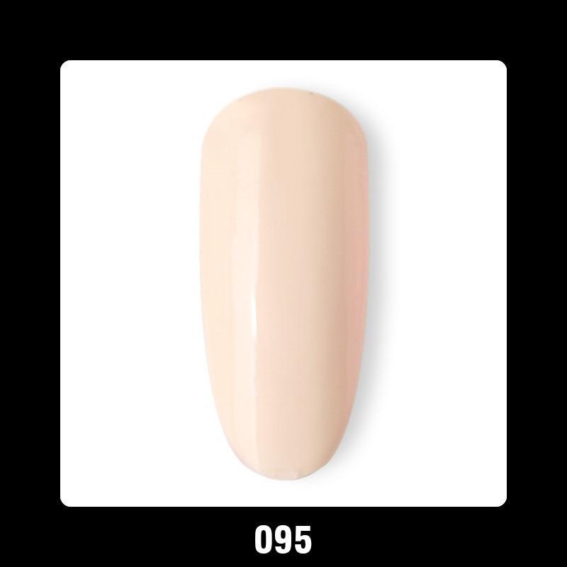 Uusi saapumisaika 1kpl Soak Off UV LED Valkoinen Ivory Beige Väri - Kynsitaide - Valokuva 4