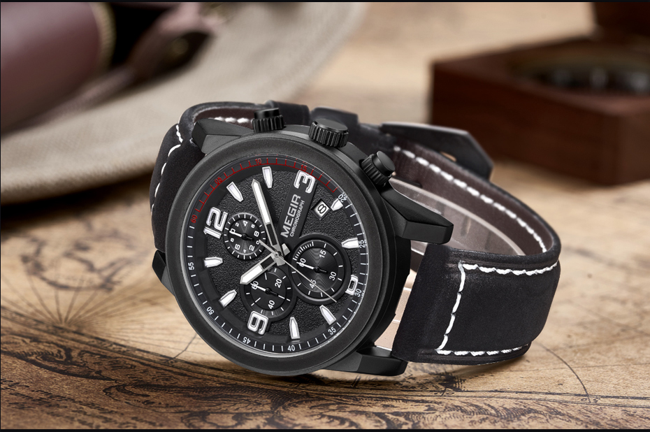 MEGIR Fashion Sport Watch Luxury Brand Leather Band Men Quartz Watches Chronogragph Clock Men Army Military Wrist Watch for Male 15  MEGIR Fashion Sport Watch Luxury Brand Leather Band Men Quartz Watches Chronogragph Clock Men Army Military Wrist Watch for Male HTB1Wc6HPXXXXXbkXVXXq6xXFXXX4