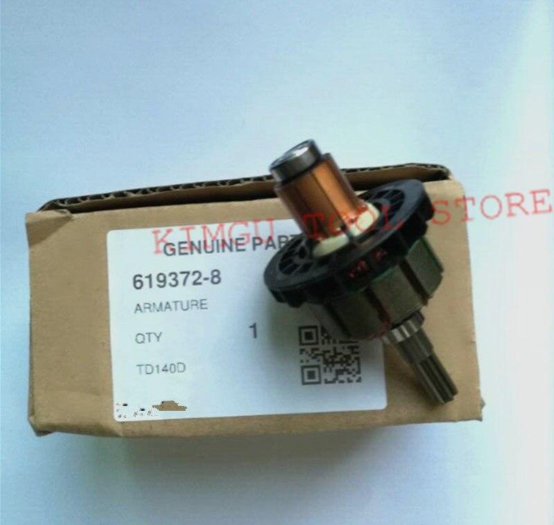 18V Armature Motor 619372-8 For MAKITA BTD140 BTD141 LXDT04CW LXDT04 BTD141Z XDT04 TD134D BTD134