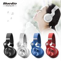 Original Bluedio T2 Wireless Foldable Headset Bluetooth Headphones Bluetooth4 1 Support FM Radio SD Card Functions