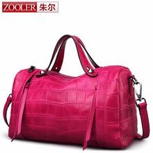 ZOOLER Designer Genuine Leather Bags Ladies Famous Brand Women Handbags High Quality Tote Bag for Women Fashion Hobos Bolsos sac