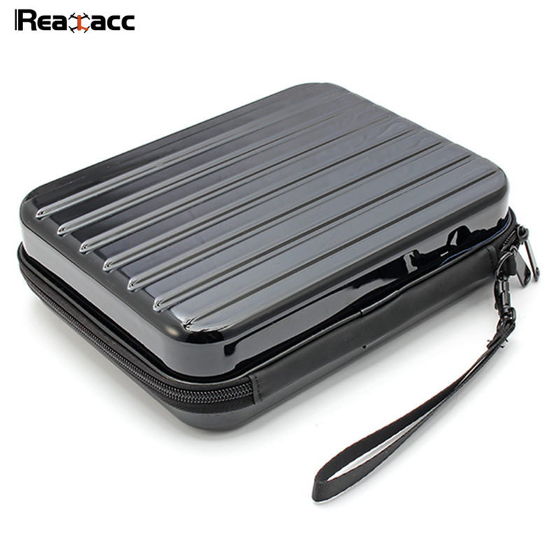 Original Realacc Waterproof Portable Storage Box Carrying Case Bag Suitcase For ZEROTECH Dobby RC Quadcopter Black dji spark glasses vr glasses box safety box suitcase waterproof storage bag humidity suitcase for dji spark vr accessories