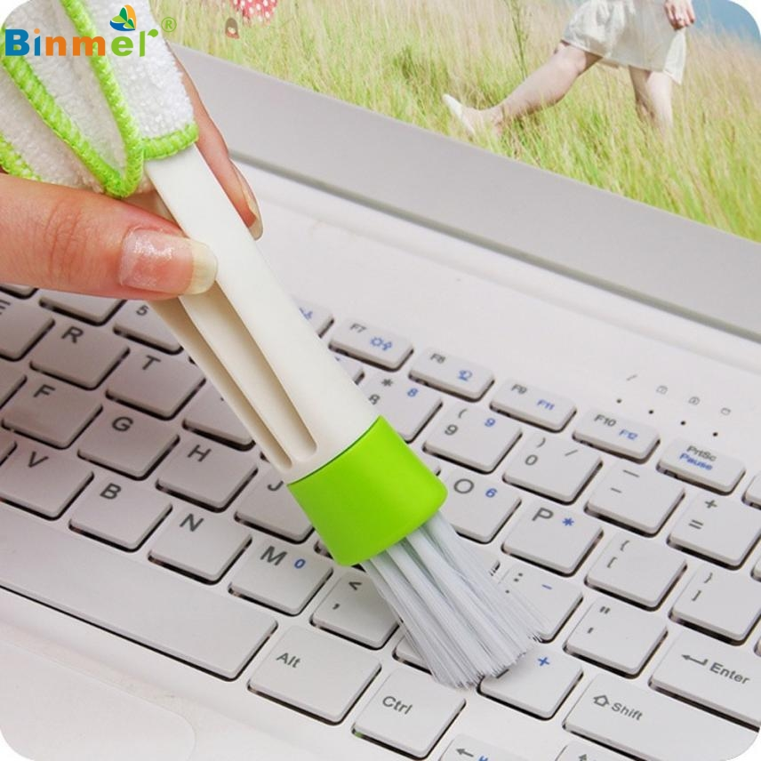 Adroit 1 Set Convenient Keyboard Dust Collector Computer Clean Tools Window Blinds Cleaner 30S61212 drop shipping