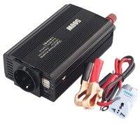 DC 12V to 110V 220V 500W Power Inverter AC Car Inverter with 4.2A Dual USB Car Adapter Voltage Transformer Power Converter Mute