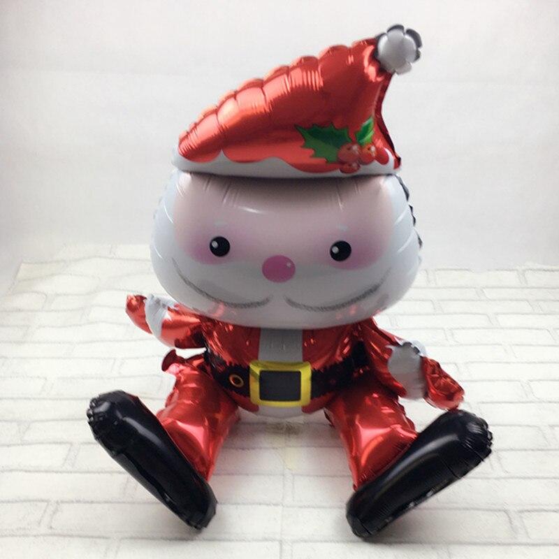 XXPWJ Free Shipping New Toys Santa Claus aluminum balloons wedding parties birth