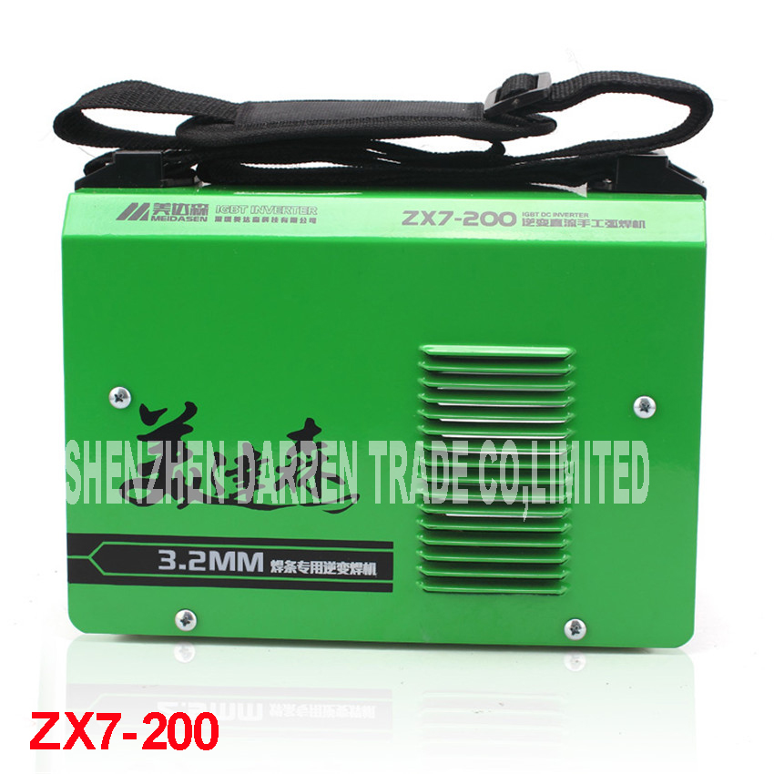 New High Quality  Welding MMA welder IGBT ZX7-200 DC Inverter Welding Machine  manual electric welding machine portable arc welder household inverter high quality mini electric welding machine 200 amp 220v for household