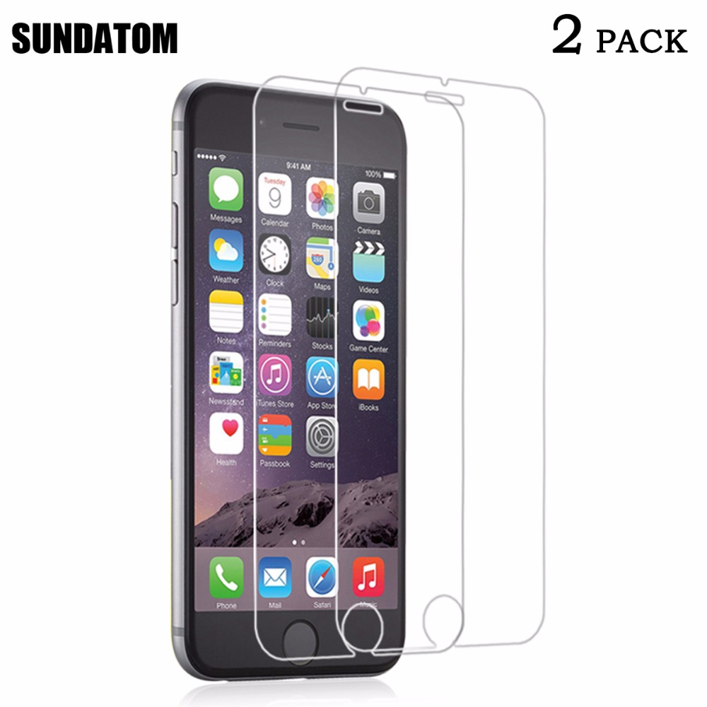 Tempered Glass Screen Protector for iPhone 6 6S 7 Plus 6Plus Explosion Proof HD Clear Matte No Fingerprint Anti-glare Film