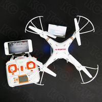 Hot Quadcopter X6SW Drohne Drone Wireless Drones HD WiFi Camera Mini Drone Race With Camer HD Helicopter Dron 4 Channels Aviao
