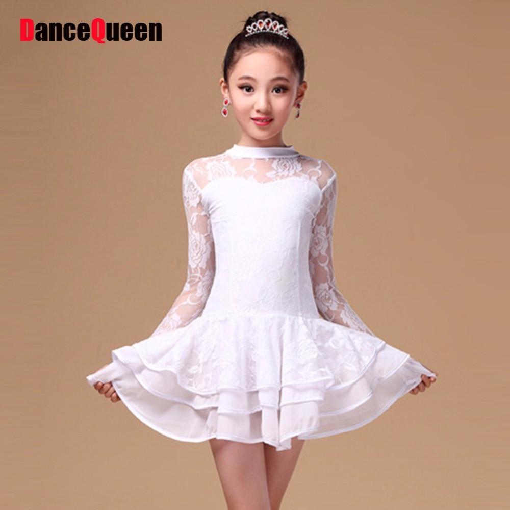 2017 robe de dance enfant latin dance children latino dance girl ballroom dress for girls rumba. Black Bedroom Furniture Sets. Home Design Ideas