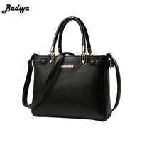 Fashion Messenger Bag Soft Leather Casual Cross Body Shopper With Inner Bag Hot Sales Leather Women