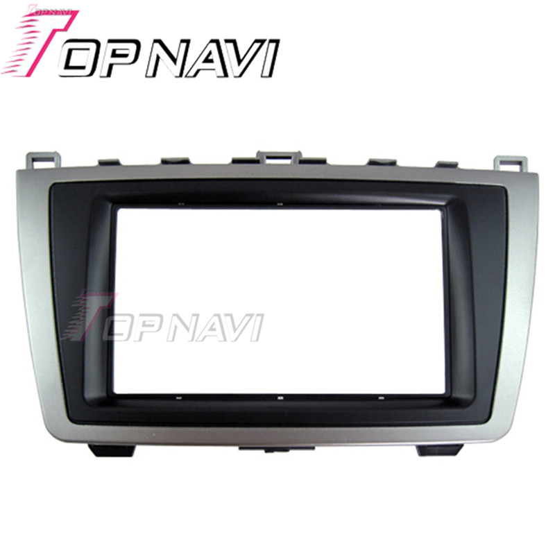 Topnavi TN-MA 006 Quality <font><b>Radio</b></font> Fascia for <font><b>MAZDA</b></font> <font><b>6</b></font> 2009-2013 Stereo Interface <font><b>Dash</b></font> CD Trim Installation <font><b>Kit</b></font> image
