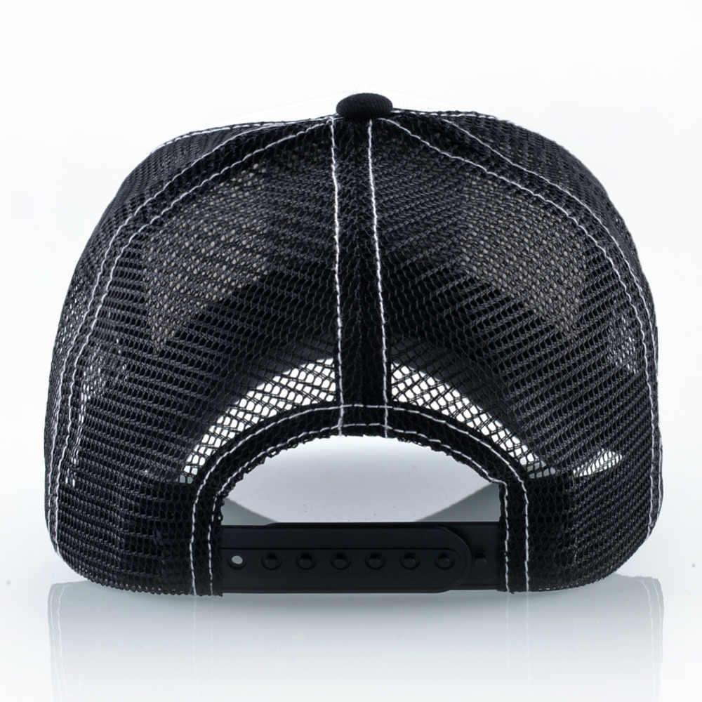 ผู้หญิงเบสบอลหมวกฤดูร้อนหมวกตาข่าย Breathable ผู้ชายแคคตัสเย็บปักถักร้อย Snapback หมวกหมวก Visor กลางแจ้ง Streetwear Hip Hop Bone