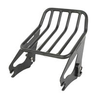Detachable Two Up Luggage Rack For 2009 2017 Harley Touring FLHR FLHRC FLHT Road King Street Electra Glide 09 17