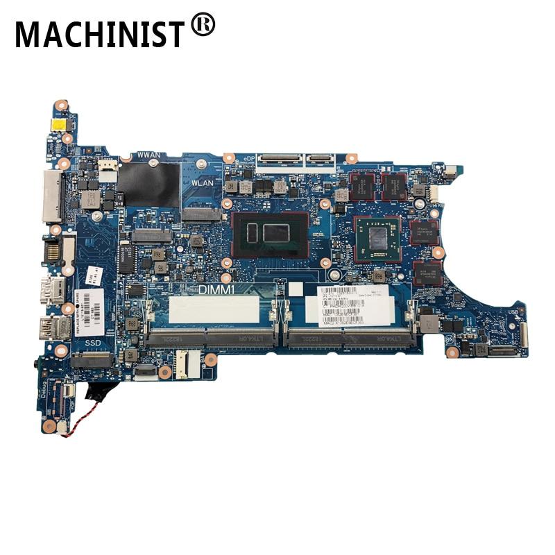Original For HP EliteBook 850 G5 840 G5 laptop motherboard MB I5 ...