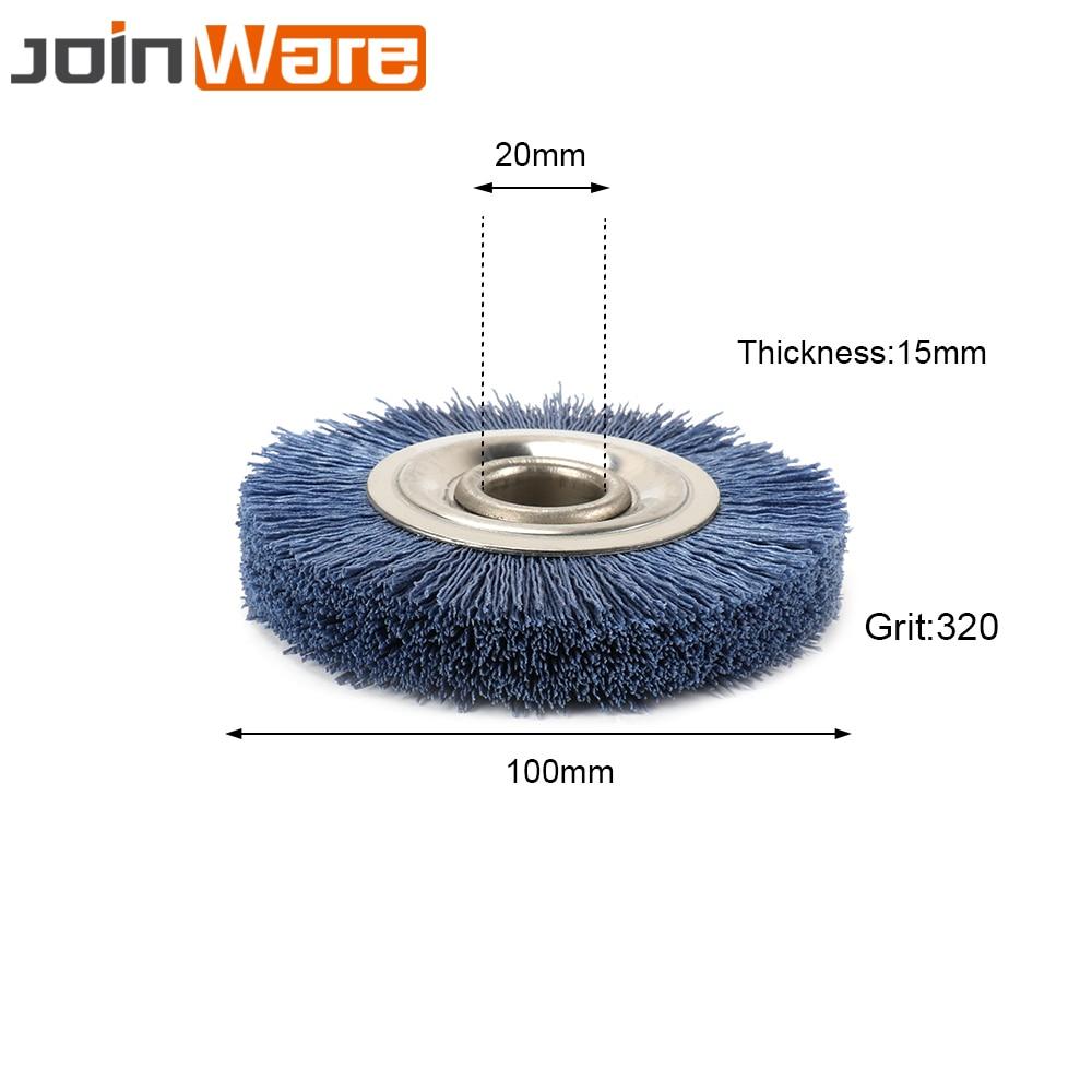 4 Inch  Abrasive Wire Import Nylon Wheel Polish Angle Grinder Sanding 240 Grit