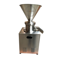 High quality stainless steel of colloid mill machine JMC 80 peanut butter processing machine for sale