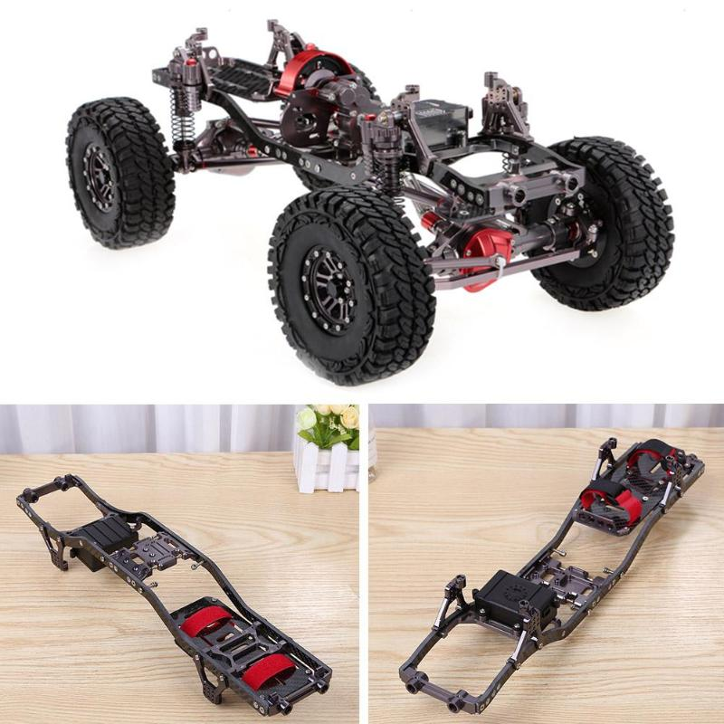 RC Rock Crawler 3K Frame Suitable for RC Climbing Car Tool Carbon fiber and aluminum Frame Parts Accessories Vehicles Model ToolRC Rock Crawler 3K Frame Suitable for RC Climbing Car Tool Carbon fiber and aluminum Frame Parts Accessories Vehicles Model Tool