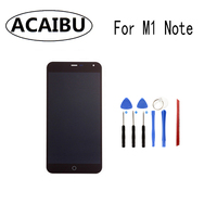 ACAIBU For Meizu M1 Note Touch Screen Digitizer Lcd Display Screen Replacement M1NOTE Digiziter Aseembly Tools