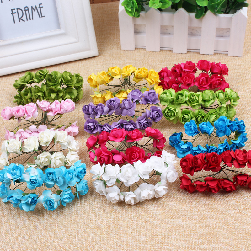 Floral Wedding Card Manufacturer From Hosur: Aliexpress.com : Buy Looen 144pc Chic Mini Artificial