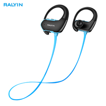 Ralyin waterproof wireless headphone bluetooth 5.0 sport wireless headset stereo deep bass wireless earphone for iphone with mic стоимость